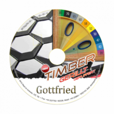 "Gottfried ""Timber gerillt gepuffert"" Sommerlaufplatte"